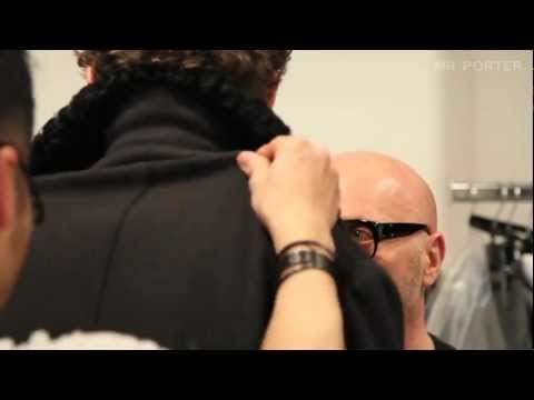 Dolce & Gabbana Behind The Scenes Interview - At The Shows - MR PORTER