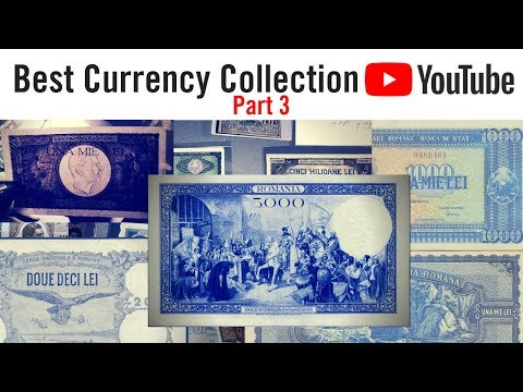 WORLD CURRENCY COLLECTION - rare paper money and banknotes (Part 3)