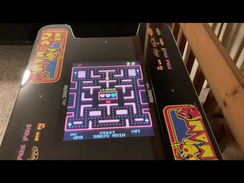 Ms PacMan Head to Head Cocktail Table arcade machine from Arcade1UP. from godwhomismike