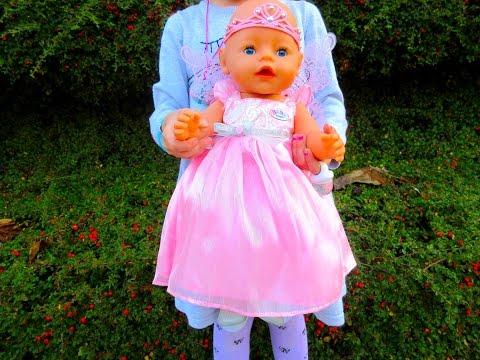 Baby Born Fairy Princess Interactive Doll, Bebe Princesa de Nenuco, Toy Video