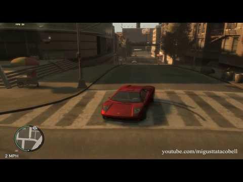 GTA IV Infernus Destruction and Random Moments