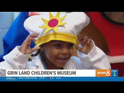 """Grin-Land!"" at The San Diego Children's Discovery Museum"