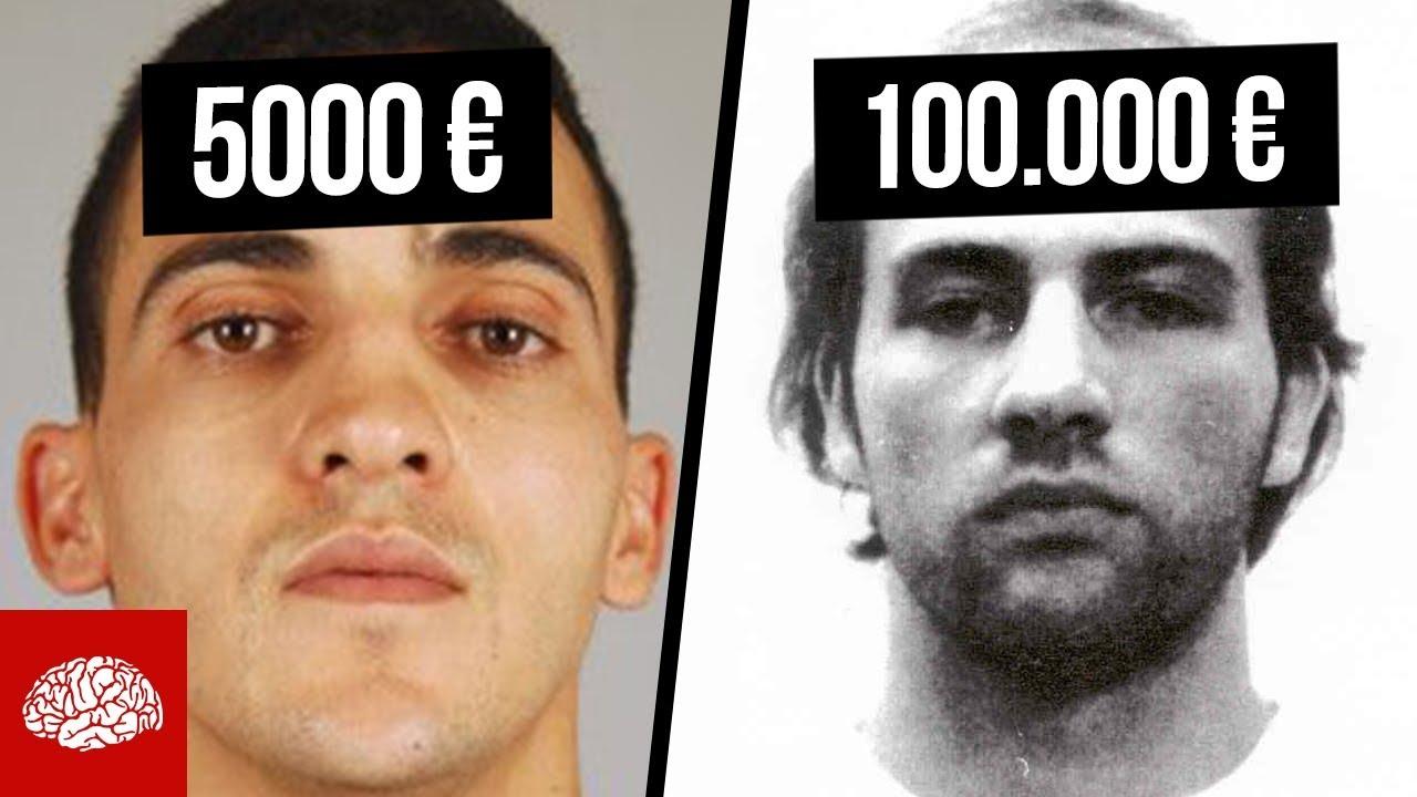 Die Meistgesuchten Verbrecher Deutschlands Youtube