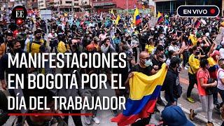 EN VIVO: En la Plaza Bolívar continúan las protestas del Paro Nacional y del 1° de mayo