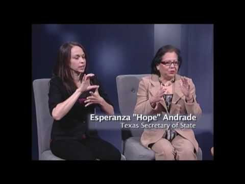 "ACCESS News: Esperanza ""Hope"" Andrade Texas Secretary of State"