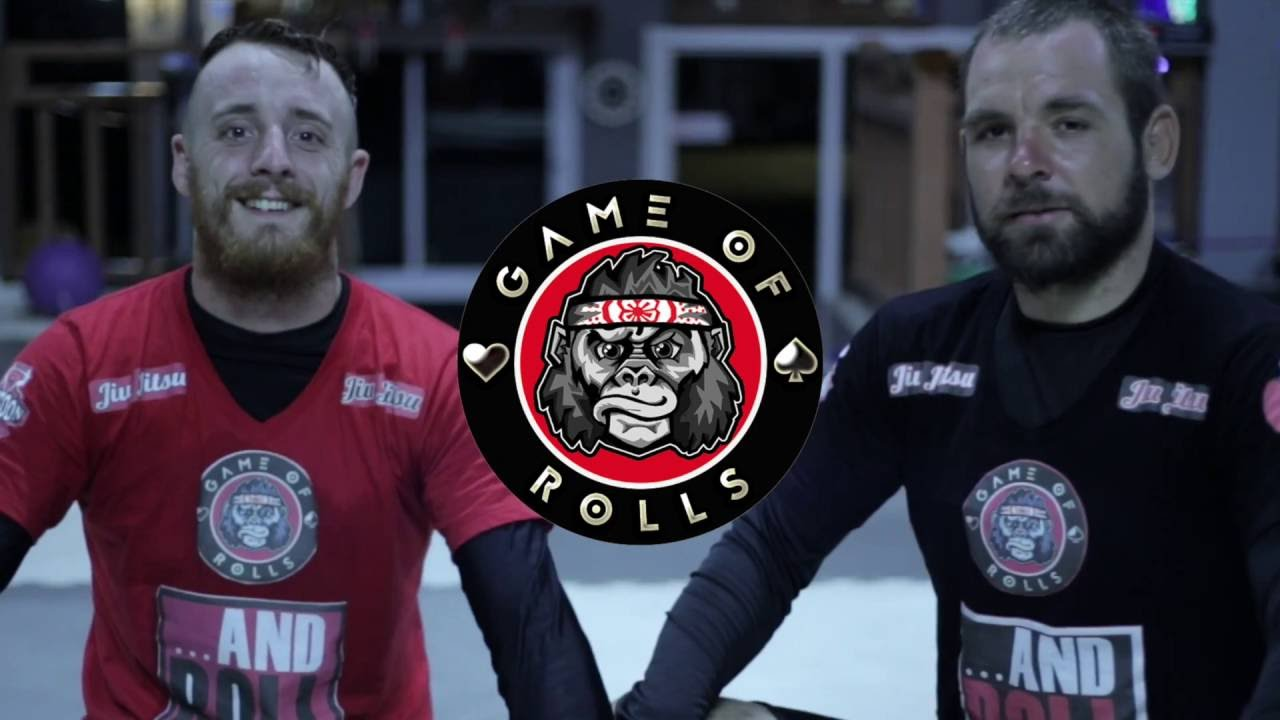 Game Of Rolls - Jiu Jitsu Card Game