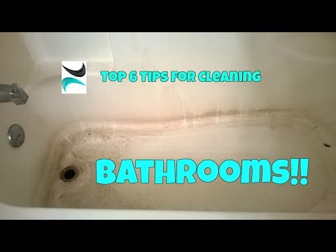 Bathroom Cleaning Hacks! - Soap Scum, Toilet Rust, and More...test for scratching