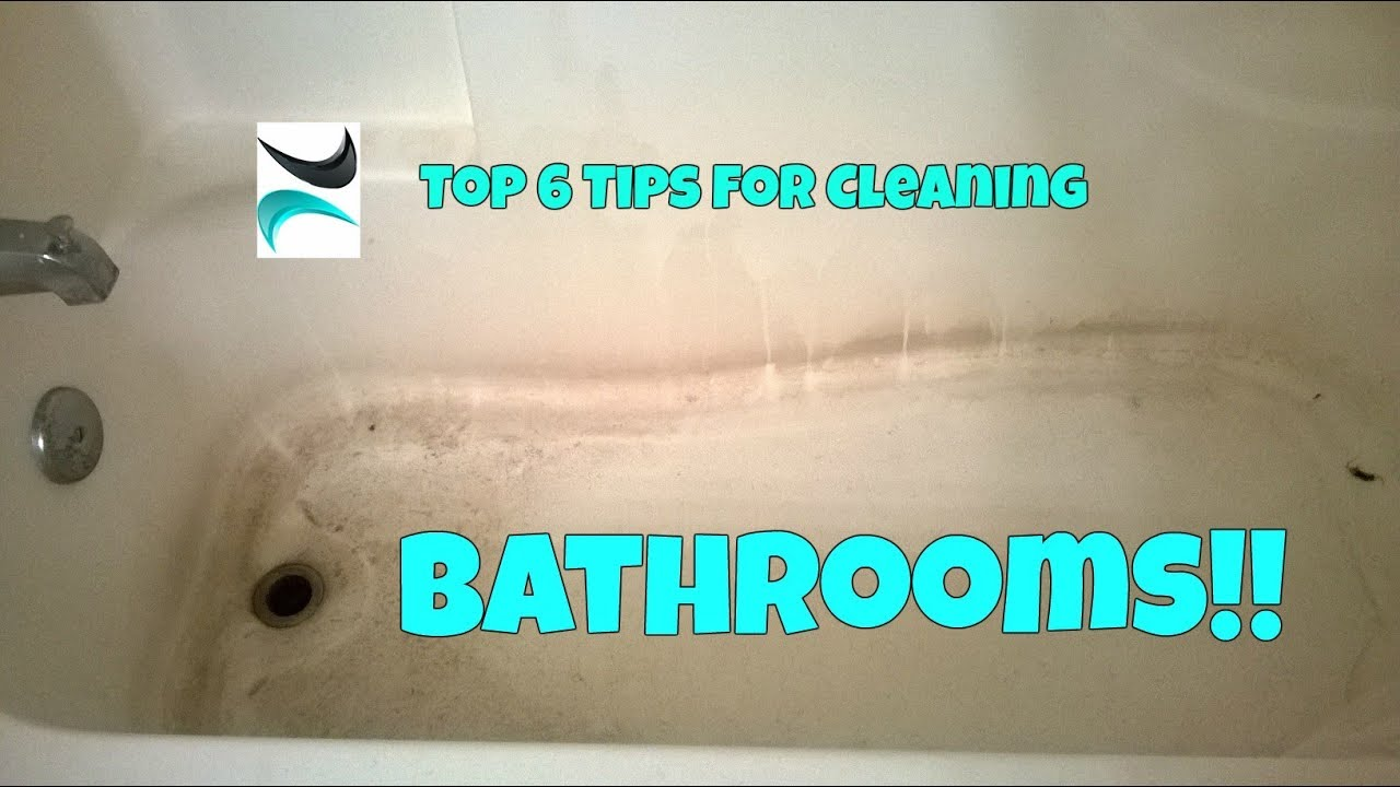 Bathroom Cleaning Hacks Soap Scum Toilet Rust And