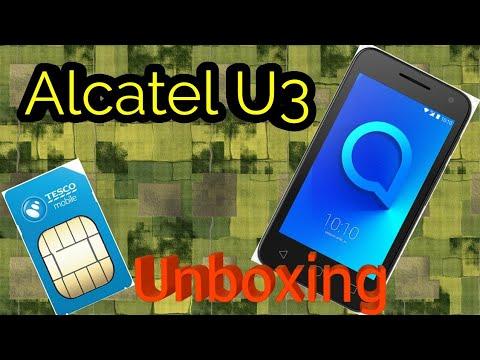 Unboxing Alcatel U3