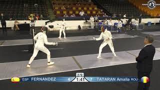 Novi Sad European Championships 2018 Day06 WE ROU vs ESP