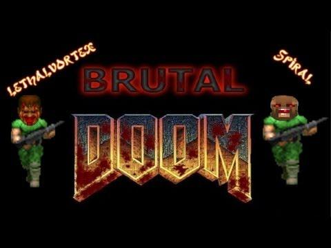 Lets Play Brutal Doom Coop plutonia experiment LEVEL 01: CONGO