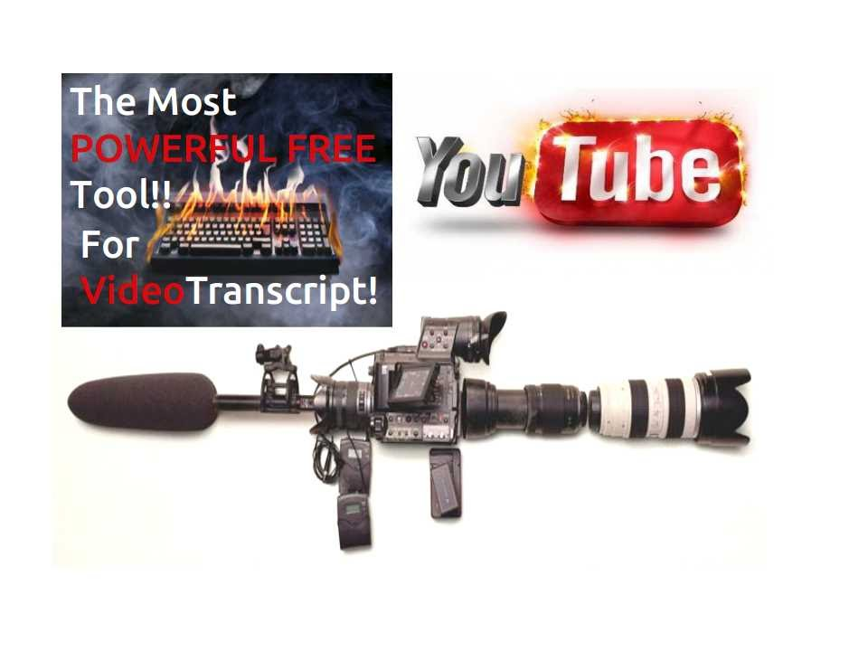how to add transcript to youtube video