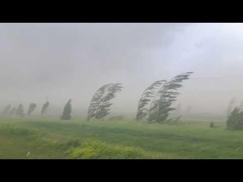 Red Deer, Alberta wind storm. June, 20. 2017