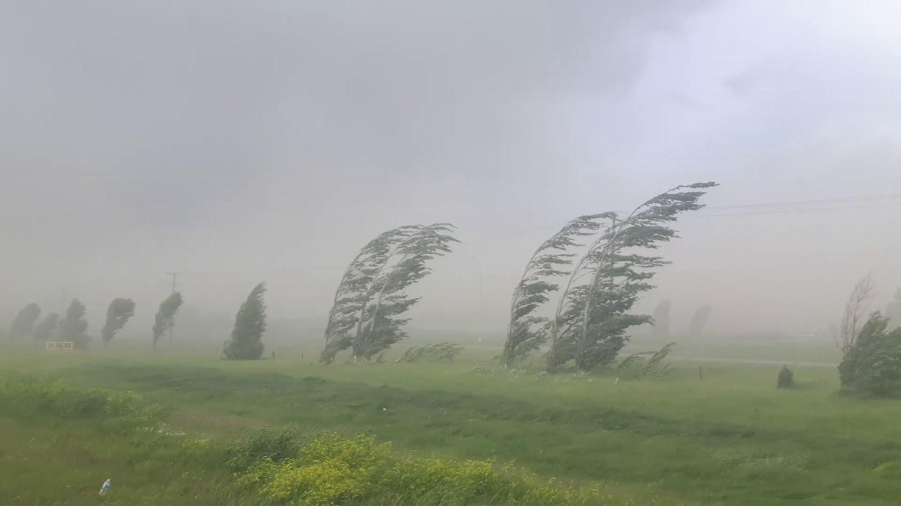 Red Deer, Alberta wind storm. June, 20. 2017 - YouTube