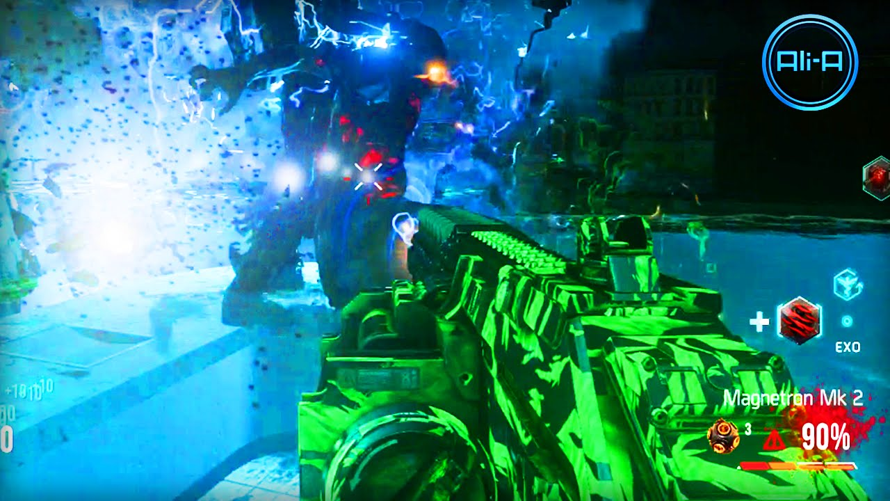 Advanced Warfare Zombies Gameplay Infection New Call Of Duty Exo Zombies Youtube
