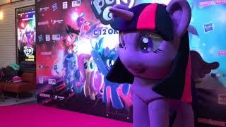 Предпремьерный показ My little Pony Movie. Распаковка игрушек. 7 октября 2017 Москва ТЦ Ривьера