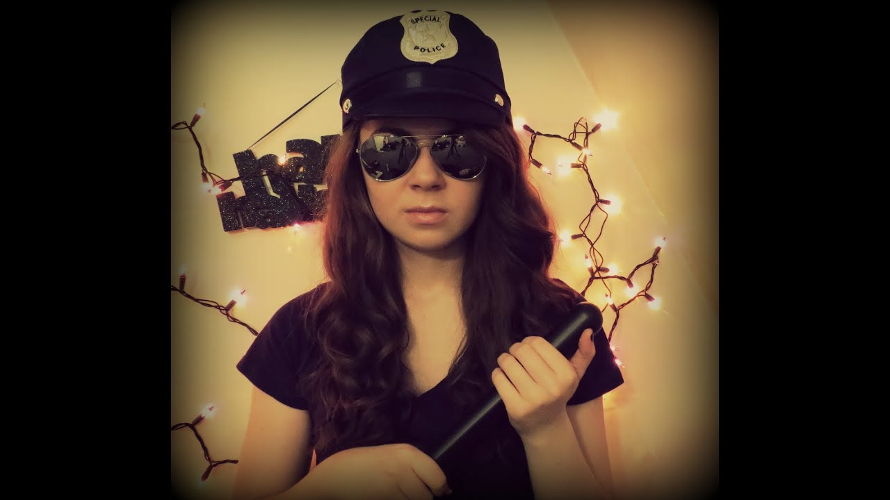 new type of sexy cop costume youtube - Girls Cop Halloween Costume