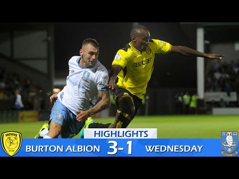Burton Albion 3 Sheffield Wednesday 1 | Extended highlights | 2016/17