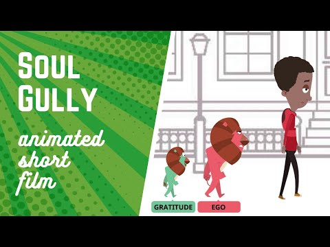 🎥 Soul Gully | Beautiful Animated Short Film | EGO versus GRATITUDE | Dabung Girl