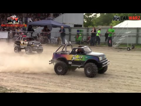 Kids Gas Power Wheels Race At Ultimate Truck Championship Croswell Michigan