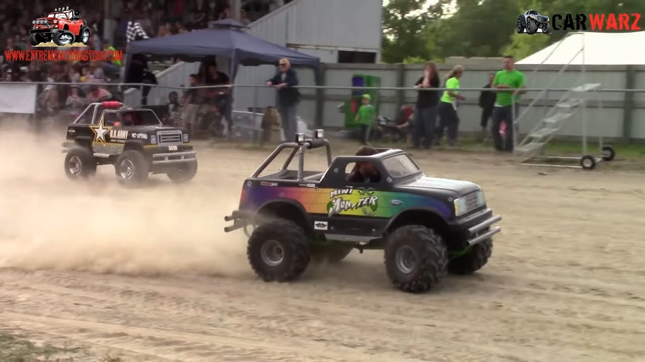 kids gas power wheels race at ultimate truck championship croswell michigan 2015