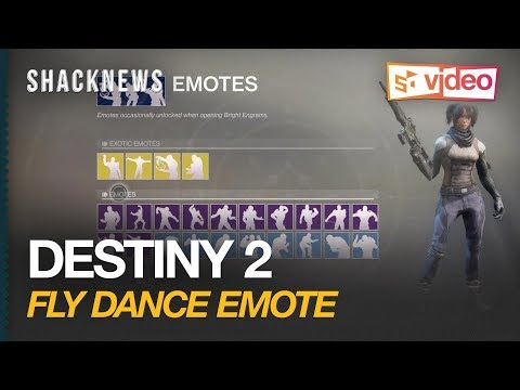 New Destiny 2 Emote Fly Dance