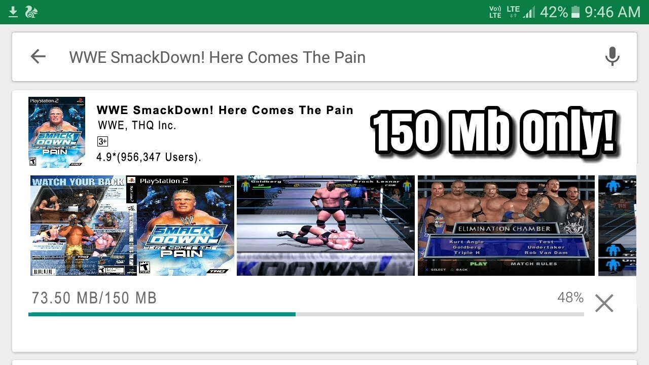 How To Download And Play WWE SmackDown! Here Comes The Pain In Android Phone #1