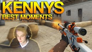 CS:GO - Best of kennyS!(Great little mini movie from silent, always a pleasure to watch kennyS awp. Check him out: YouTube: ..., 2015-03-09T12:00:00.000Z)