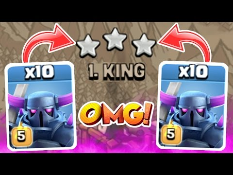 10 PEKKA TROLL WAR!! WHAT!?!?!?!?!?! - Clash Of Clans CHRISTMAS TROLL SPECIAL!