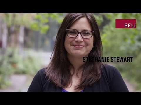 Meet SFU's Stephanie Stewart, Communications Officer