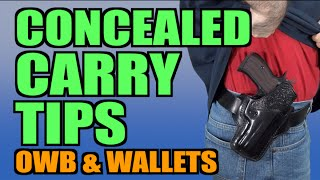 Concealed Carry Tips: CCW & Wallets