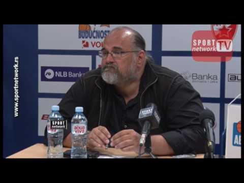 Konferencija za medije KK Partizan posle Partizan - Cedevita