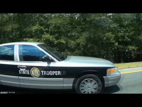 "North Carolina State Highway Patrol ""SHP-1151"" Speeding"