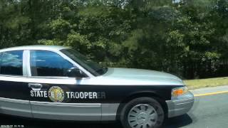 "North Carolina State Highway Patrol ""SHP-1151"" Speeding"
