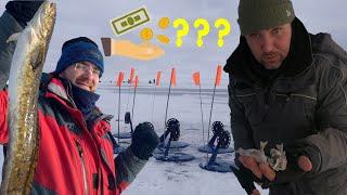 Сколько стоит РЫБАЛКА ЗИМОЙ? Рыбалка с ОН-ЛАЙН подсчетом.