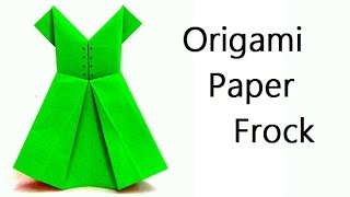 Origami Paper frock :: Innovative arts :: Paper crafts