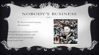 "Library Film Series:  ""Nobody's Business"" (1996)"