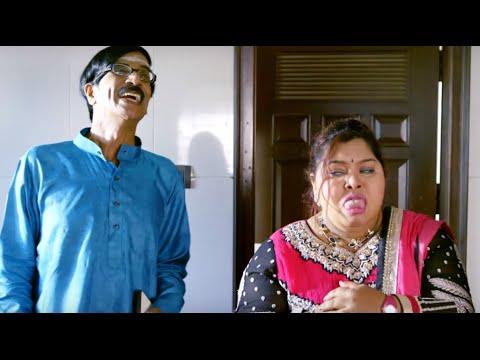 Manobala - Aarthi Comedy Scene #Sowkarpettai 2016 Tamil Movie Scene