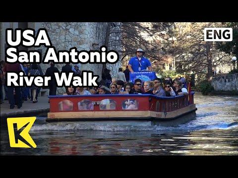 【K】USA Travel-San Antonio[미국 여행-샌 안토니오]리버 워크/River Walk/San Antonio River/Cheonggyecheon Stream
