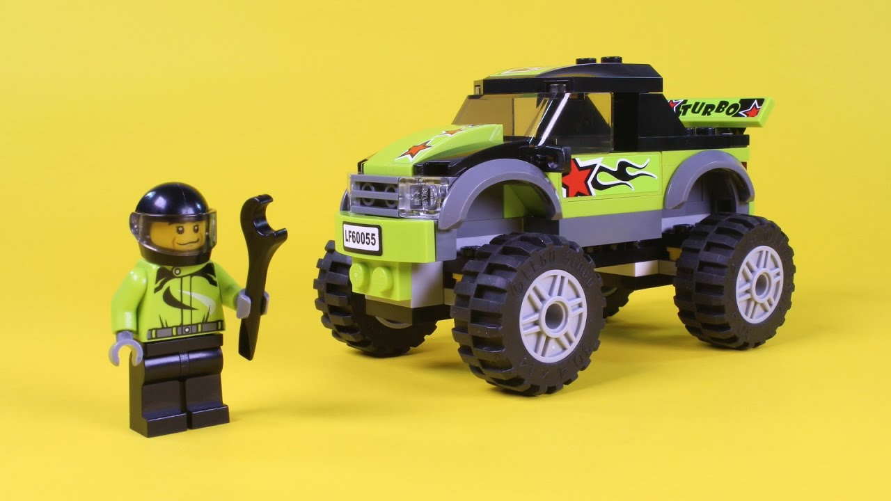 Lego Monster Truck Animated Building Instructions (Lego ...Lego City Truck Instructions