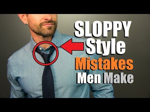 10 SLOPPY Style Mistakes That INSTANTLY Make You Look UNstylish!