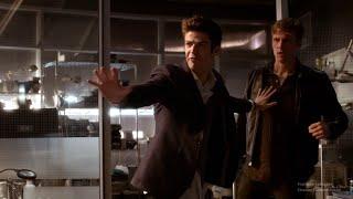 the flash 2x05 harrison vs jay   harrison tells the team about cisco
