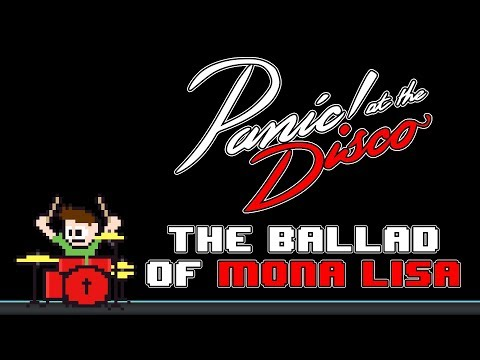 Panic! At The Disco - The Ballad Of Mona Lisa (Blind Drum Cover) -- The8BitDrummer