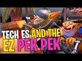 Techies and the EZ PEK PEK - DotA 2 Funny Moments