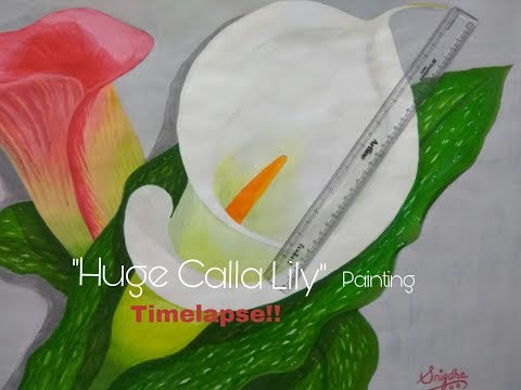 huge-calla-lily-painting!!