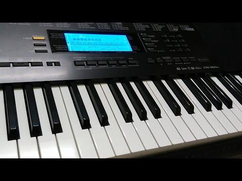 Main Rahoon Ya Na Rahoon on Keyboard   Instrumental Cover