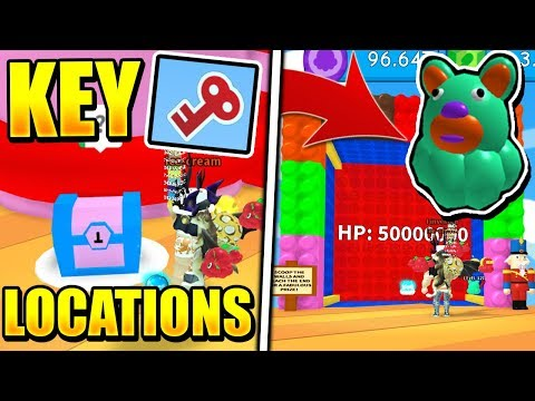 ALL SECRET PET AND KEY LOCATIONS IN ICE CREAM SIMULATOR TOYS UPDATE! (Roblox)