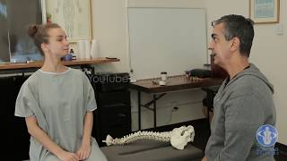 Russian Ballet Dancer with Neck, Coccyx and Hip Pain HELPED with Dr. Rahim Gonstead Chiropractor