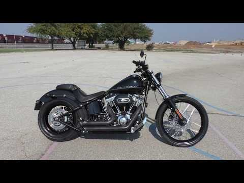032147 - 2012 Harley Davidson Softail Blackline   FXS - Used Motorcycles For Sale