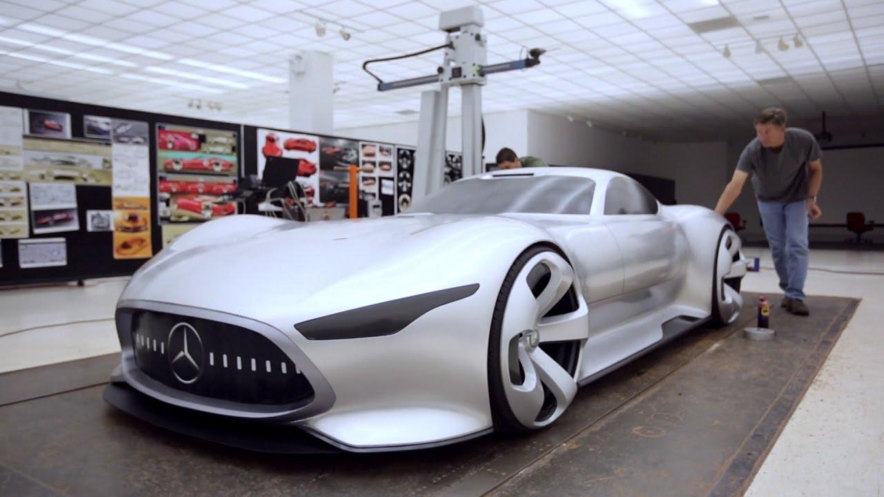 mercedes-benz amg vision gran turismo (2013 concept car) - youtube